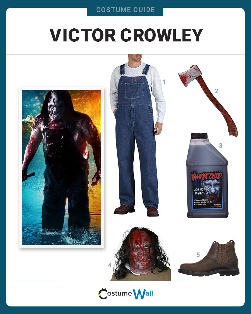 Victor Crowley Costume Guide