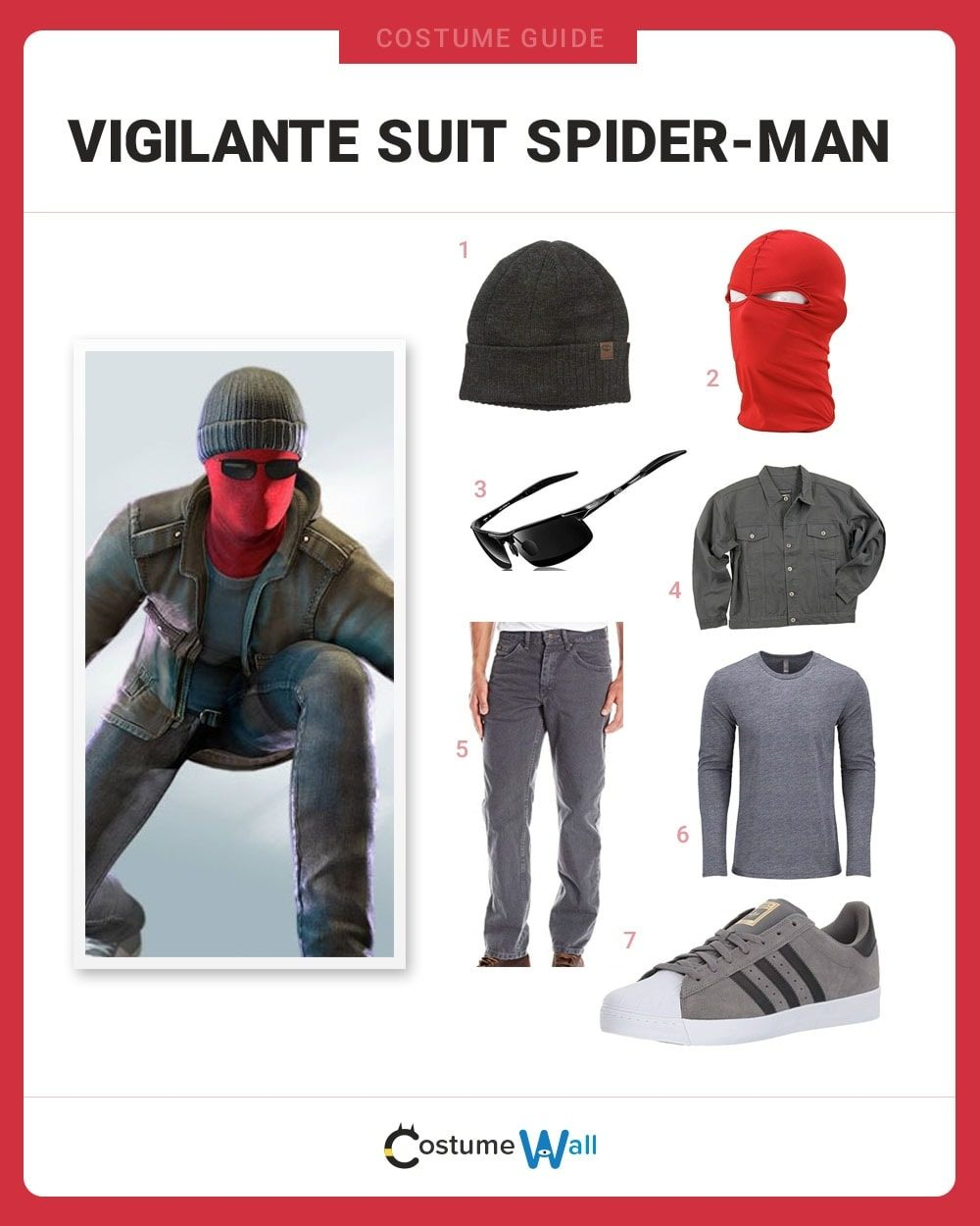 Vigilante Suit Spider-Man Costume Guide