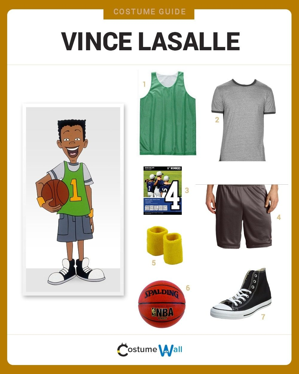 Vince LaSalle Costume Guide