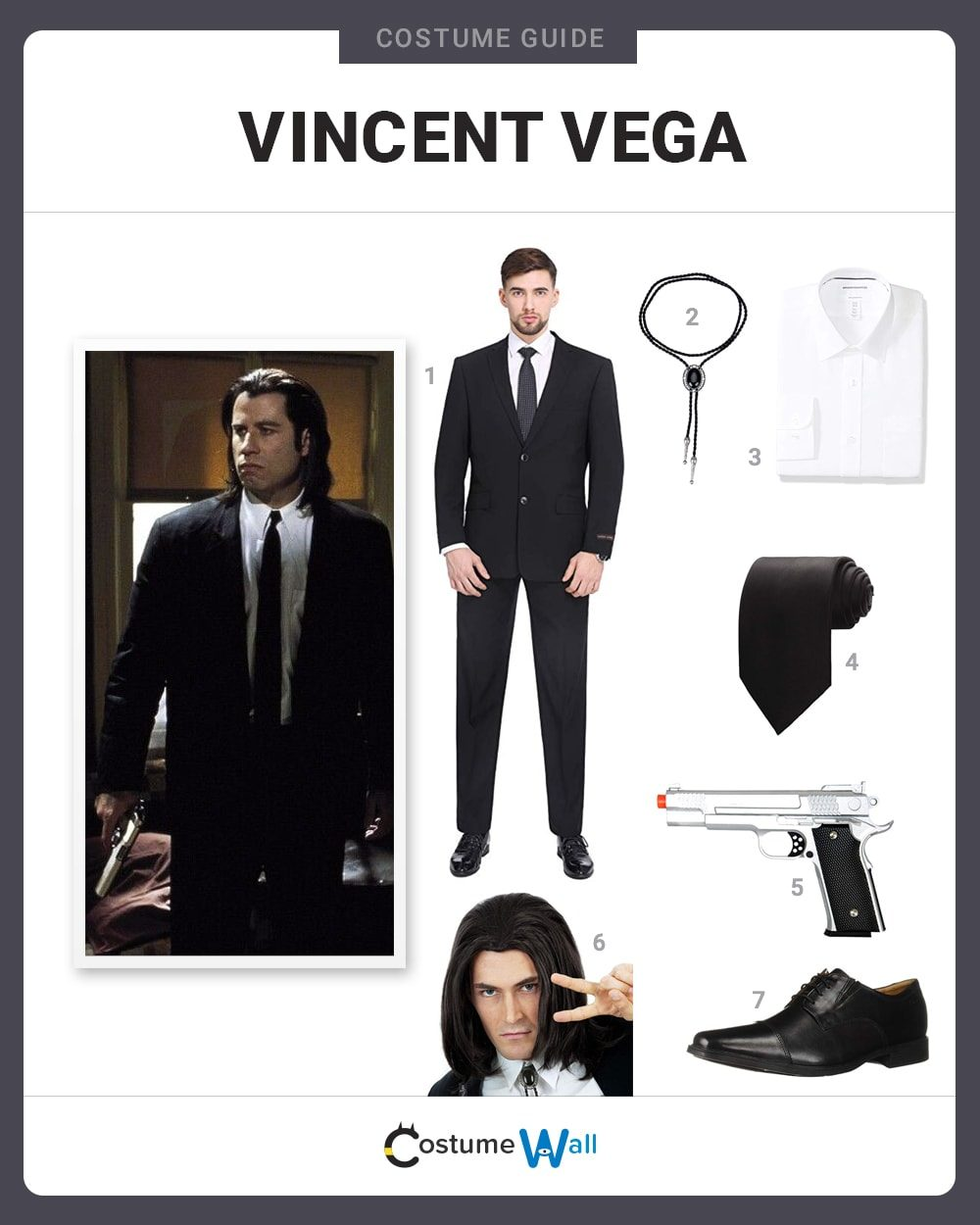 Dress Like Vincent Vega Costume Halloween And Cosplay Guides
