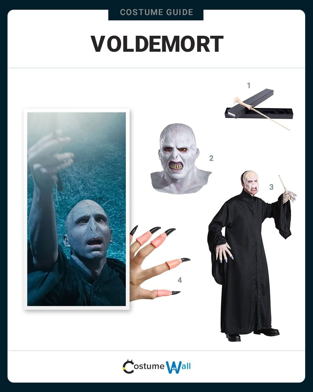 Voldemort Costume Guide