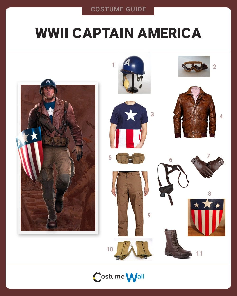 WWII Captain America Costume Guide