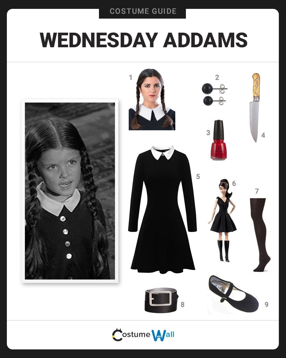 Wednesday Addams Costume Guide