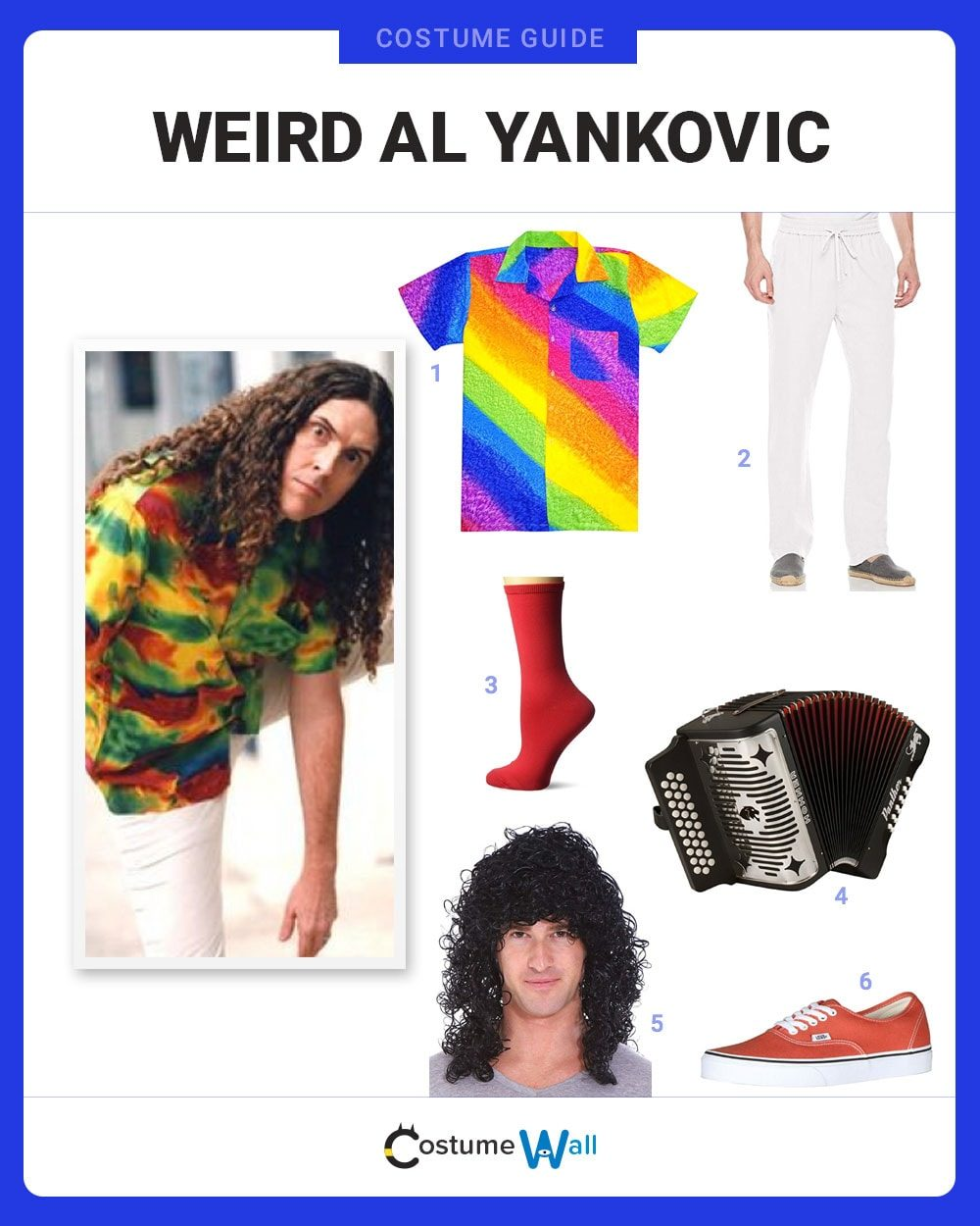 Weird Al Yankovic Costume Guide