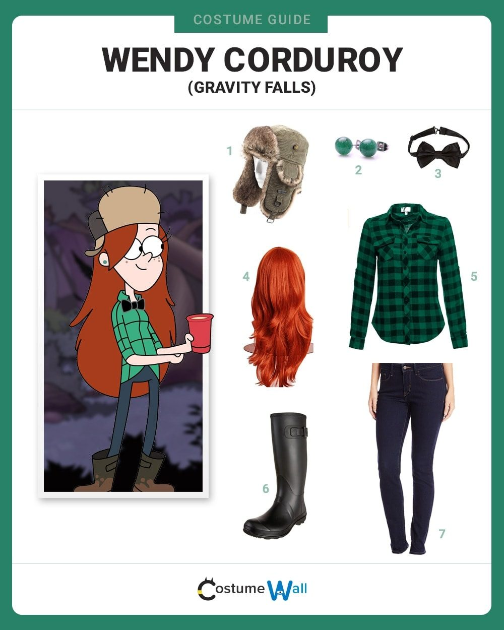Wendy Corduroy Costume Guide