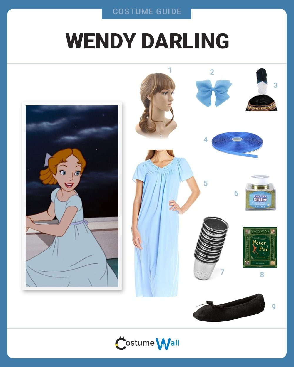 Wendy Darling Costume Guide