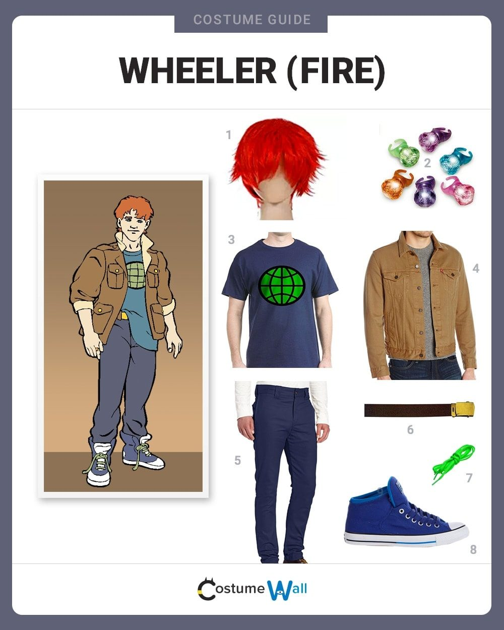 dress like wheeler (fire) costume | halloween and cosplay guides