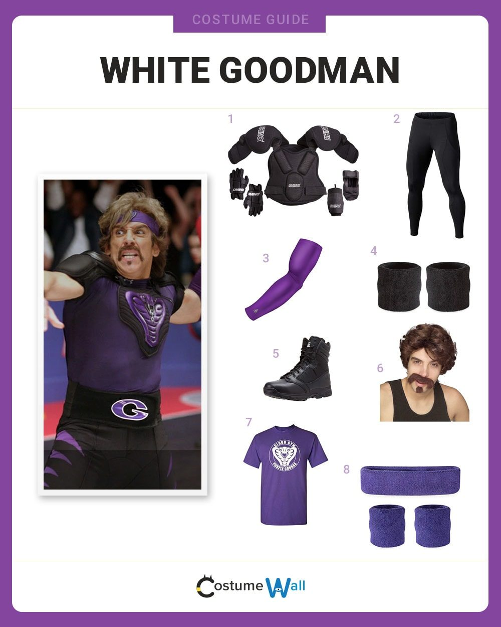 White Goodman Costume Guide