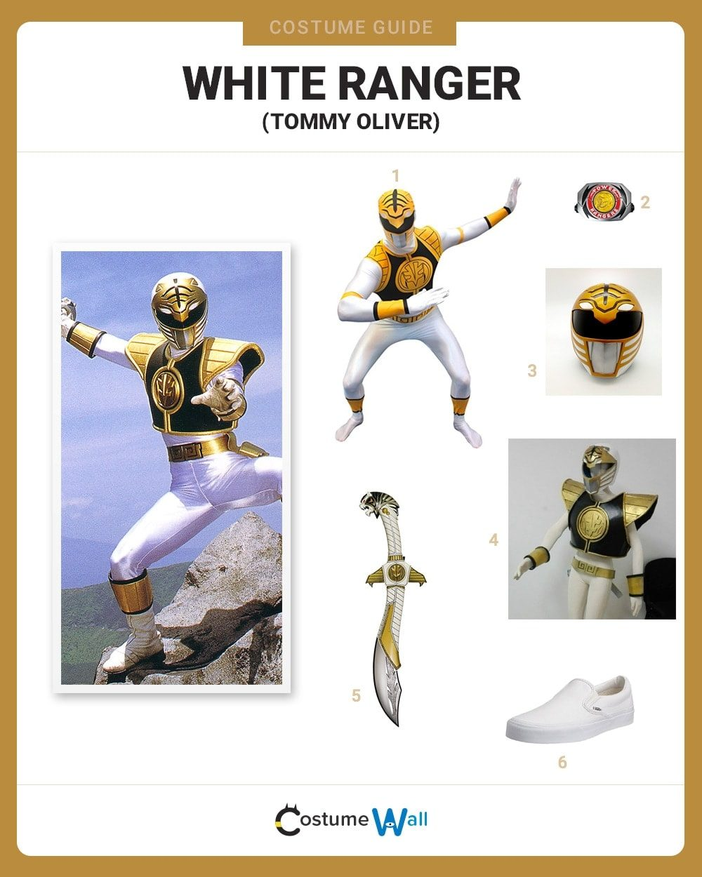 White Ranger Costume Guide