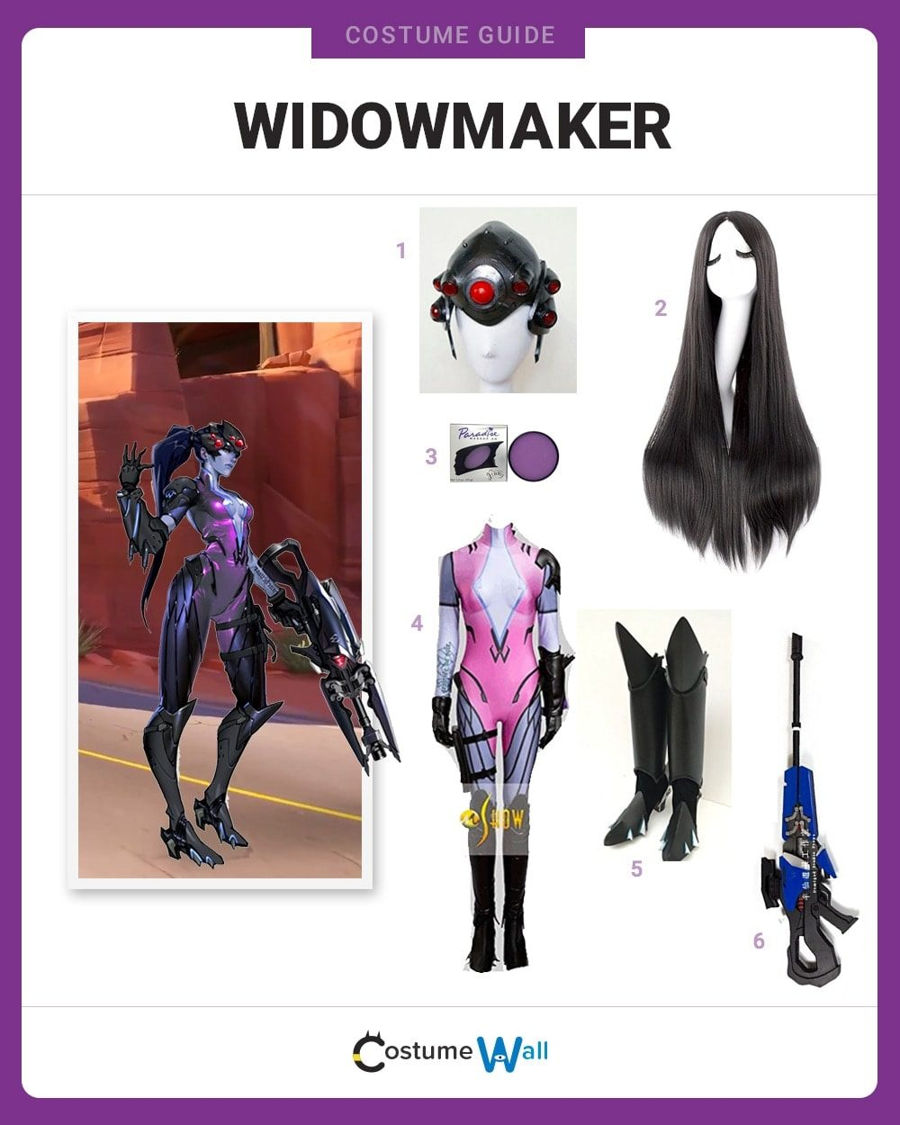 Widowmaker Costume Guide