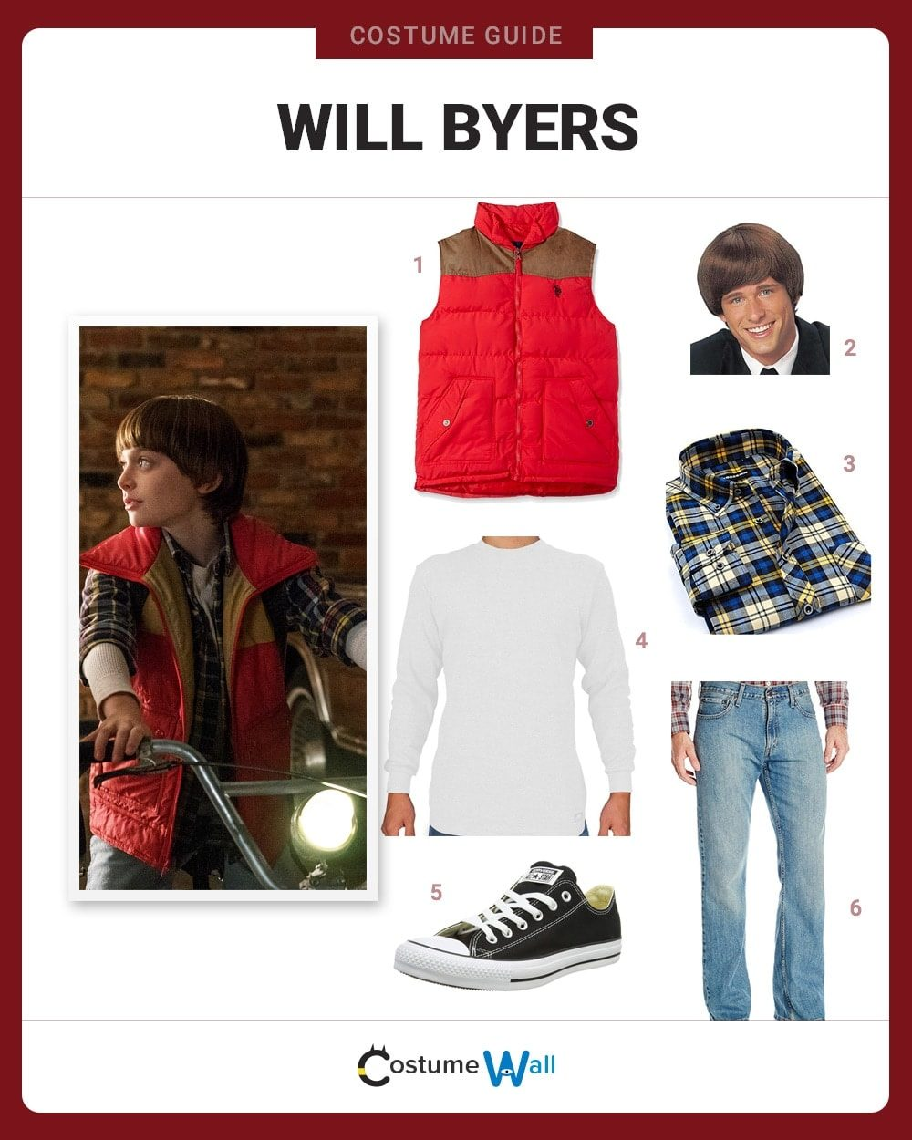 Dress Like Will Byers Costume Halloween And Cosplay Guides
