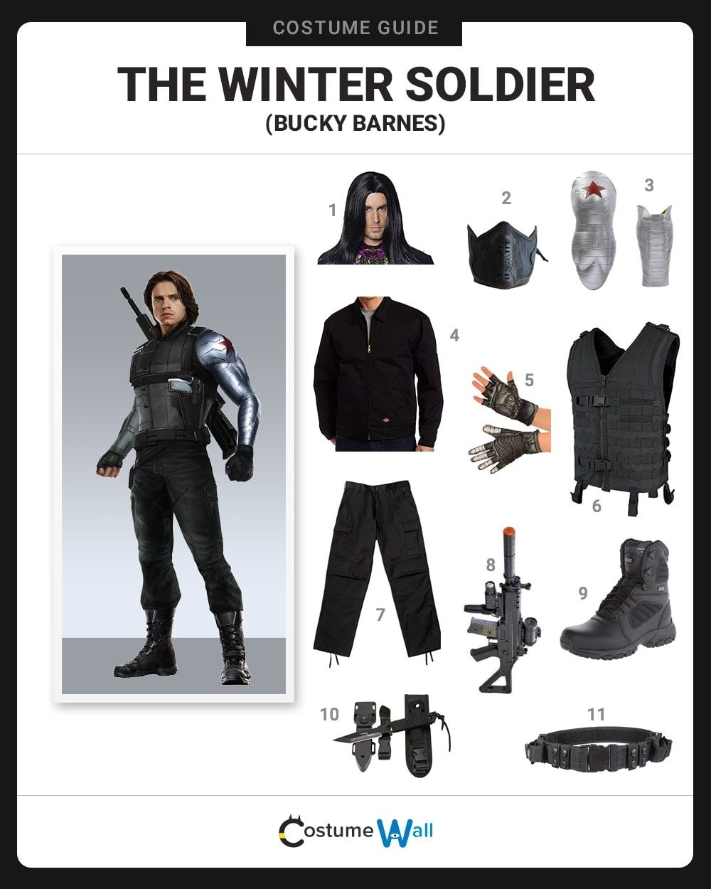 Winter Soldier Costume Guide