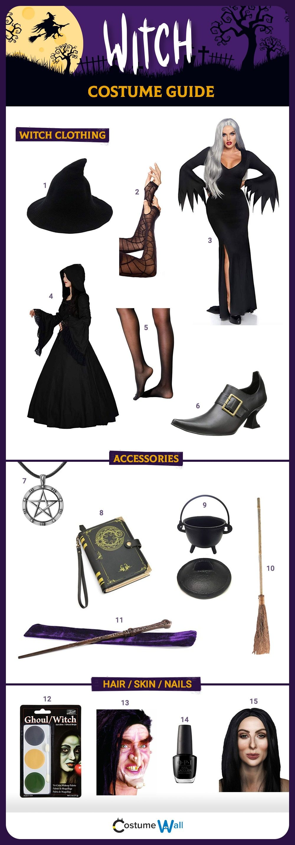 Witch Costume Guide