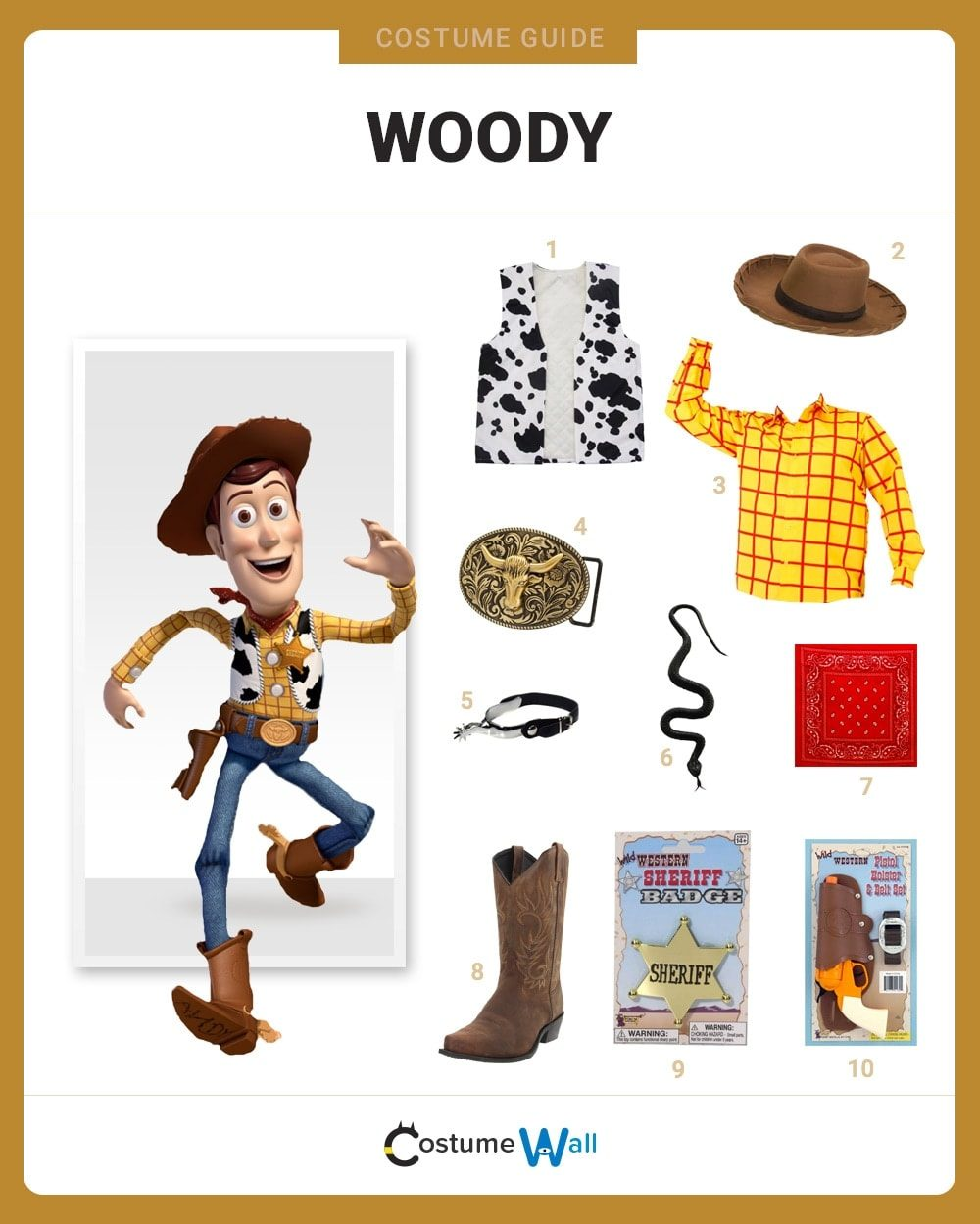Sheriff Woody Costume Guide
