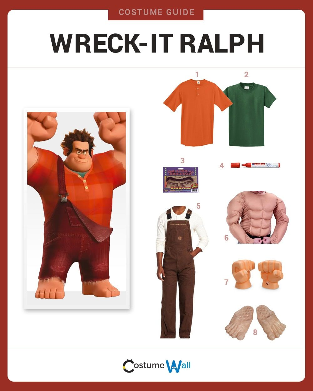 Dress Like WreckIt Ralph Costume  Halloween and Cosplay Guides