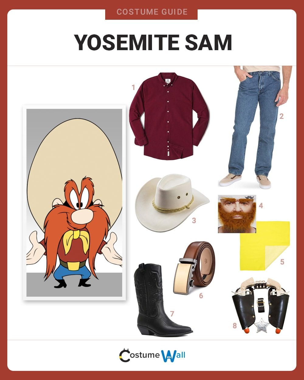 Yosemite Sam Costume Guide