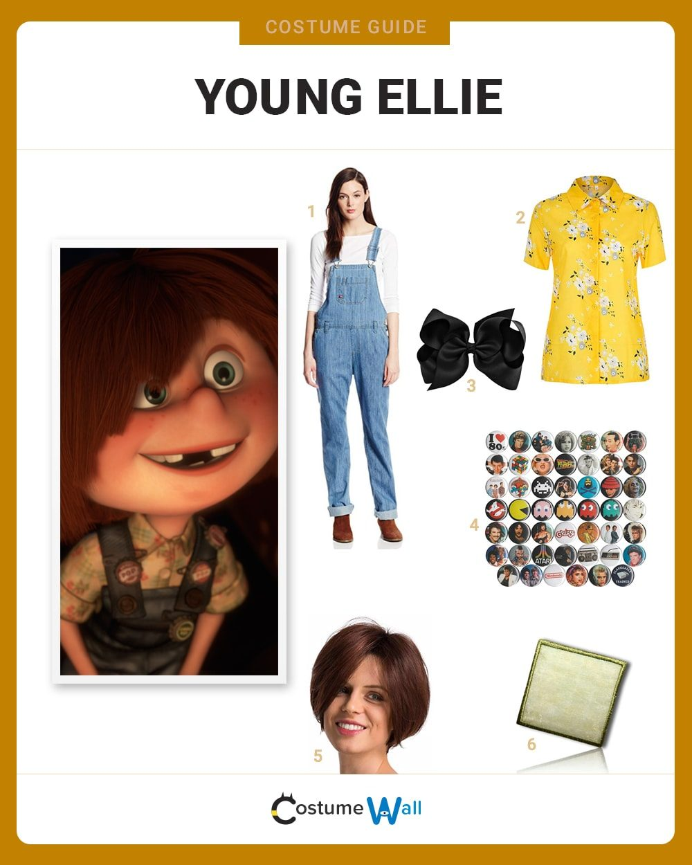 Young Ellie Fredricksen Costume Guide