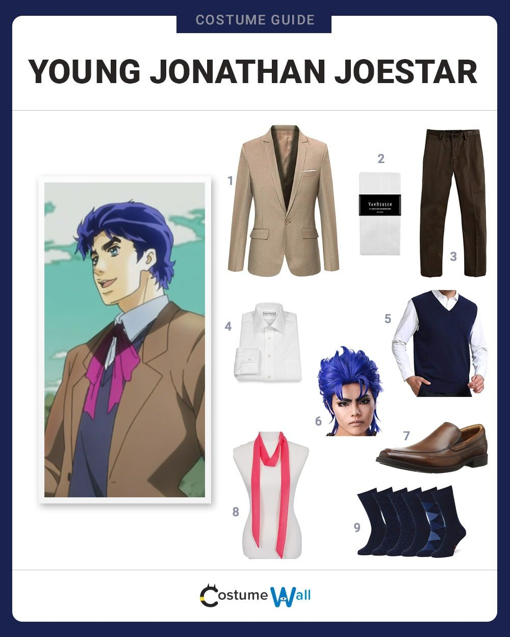 Young Jonathan Joestar Costume Guide