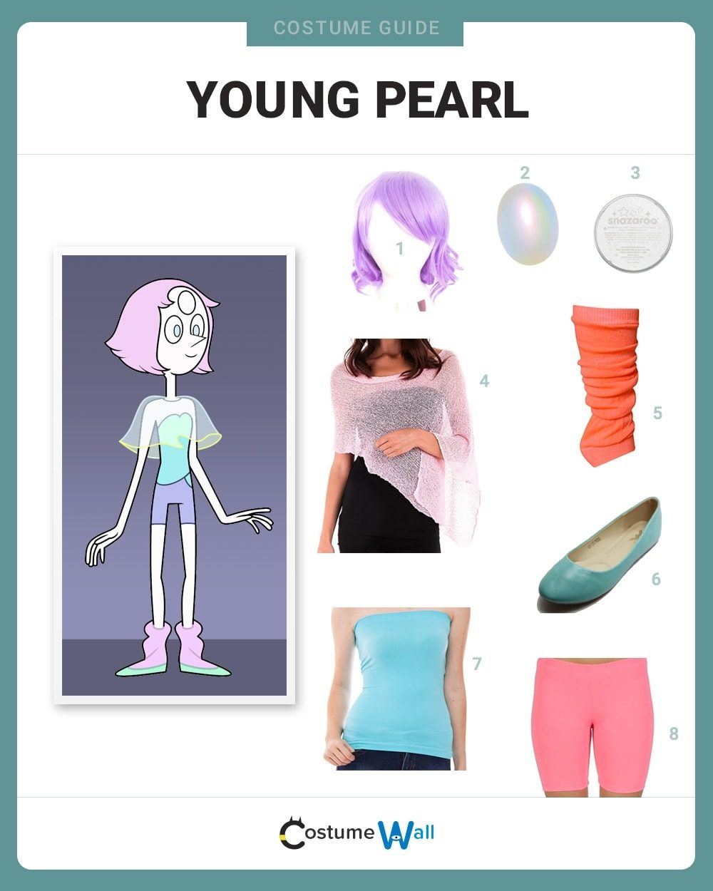 Young Pearl Costume Guide