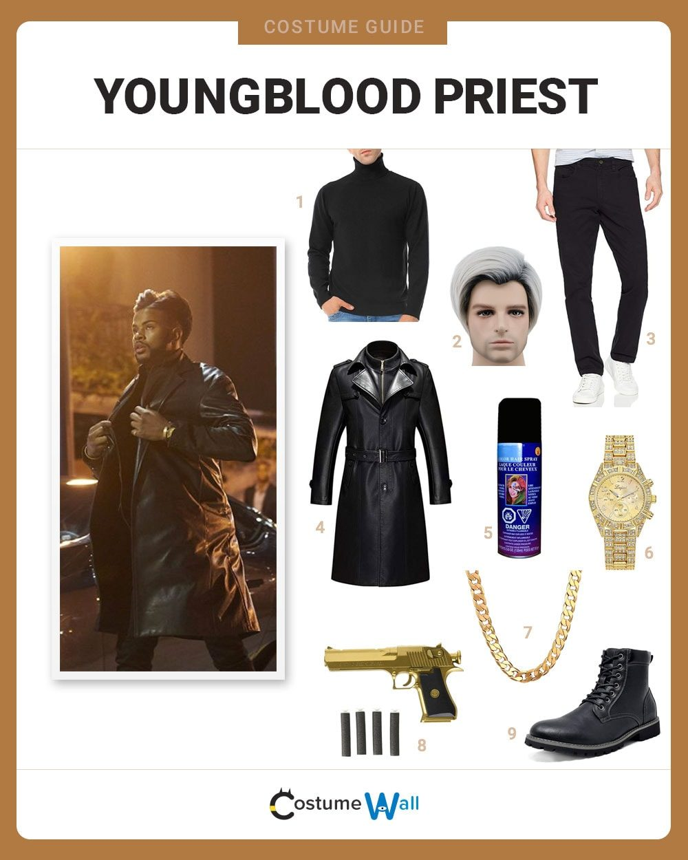 Youngblood Priest Costume Guide