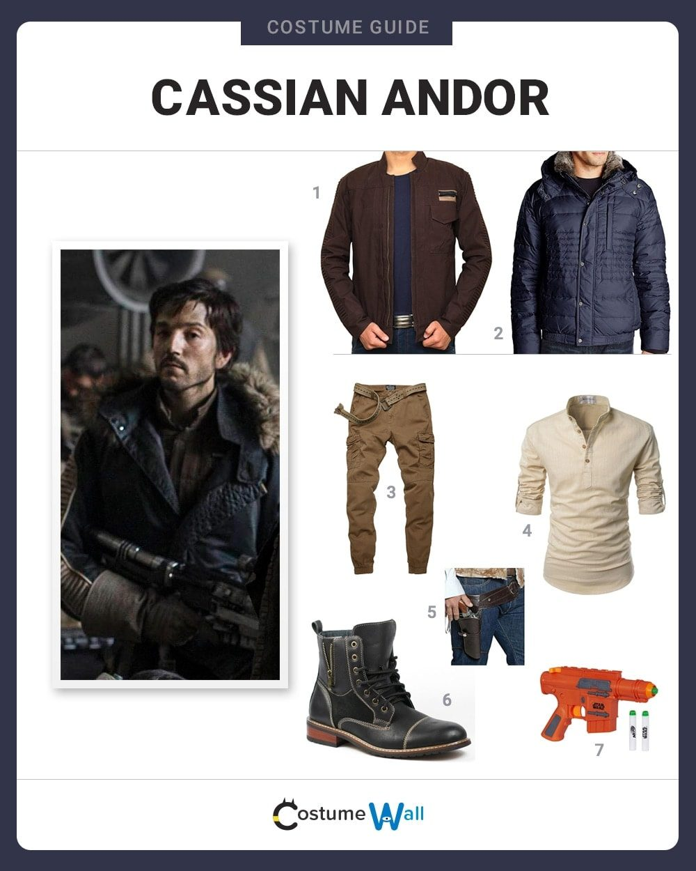Cassian Andor Costume Guide