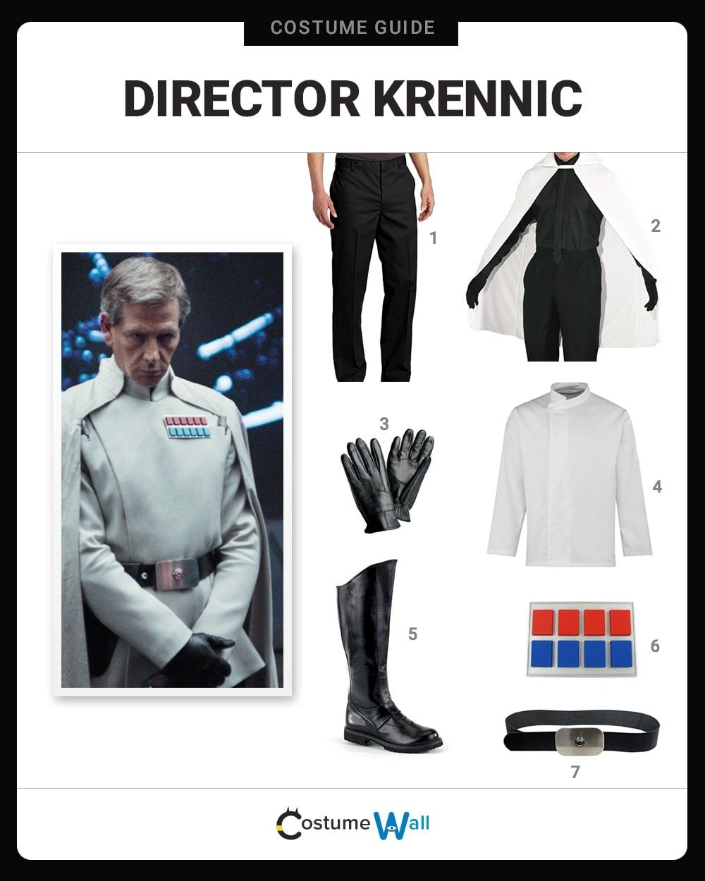 Director Krennic Costume Guide