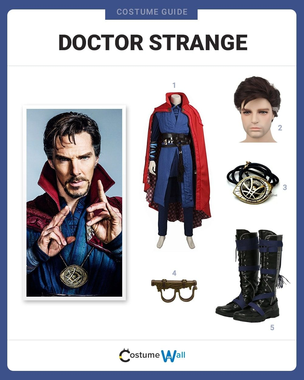 Doctor Strange Costume Guide