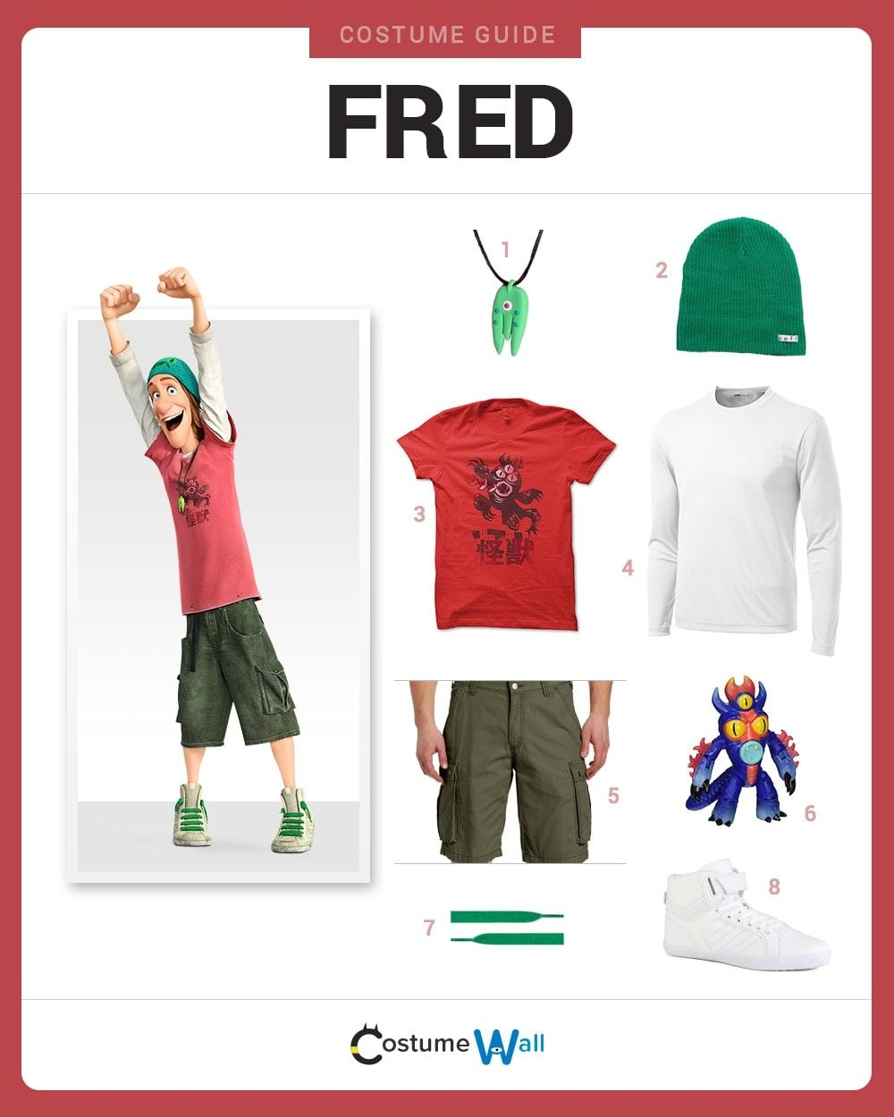 Fred Costume Guide