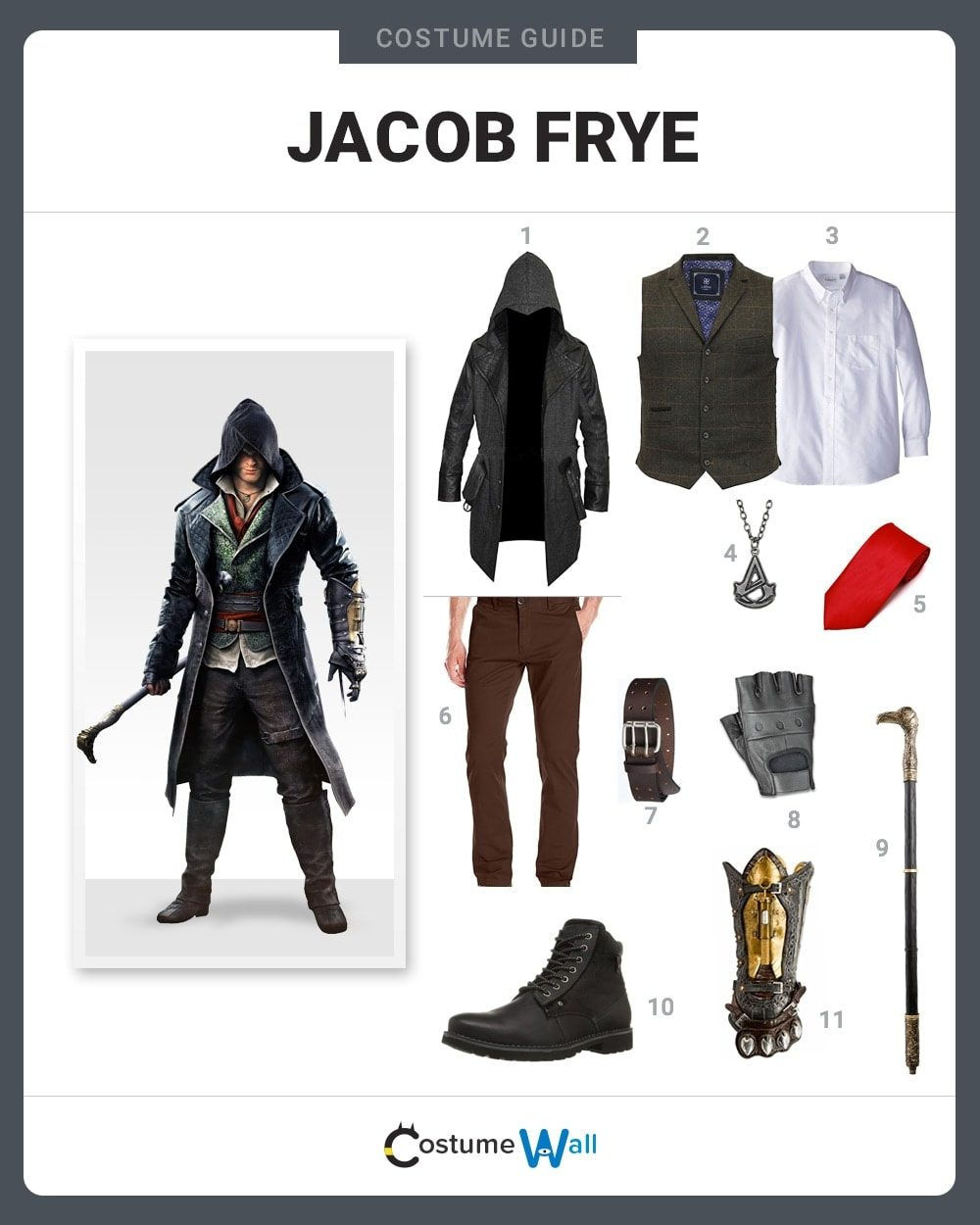 Dress Like Jacob Frye Costume Halloween And Cosplay Guides