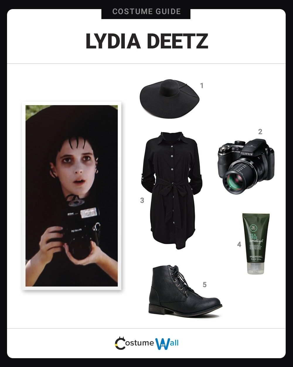 Lydia Deetz Costume Guide