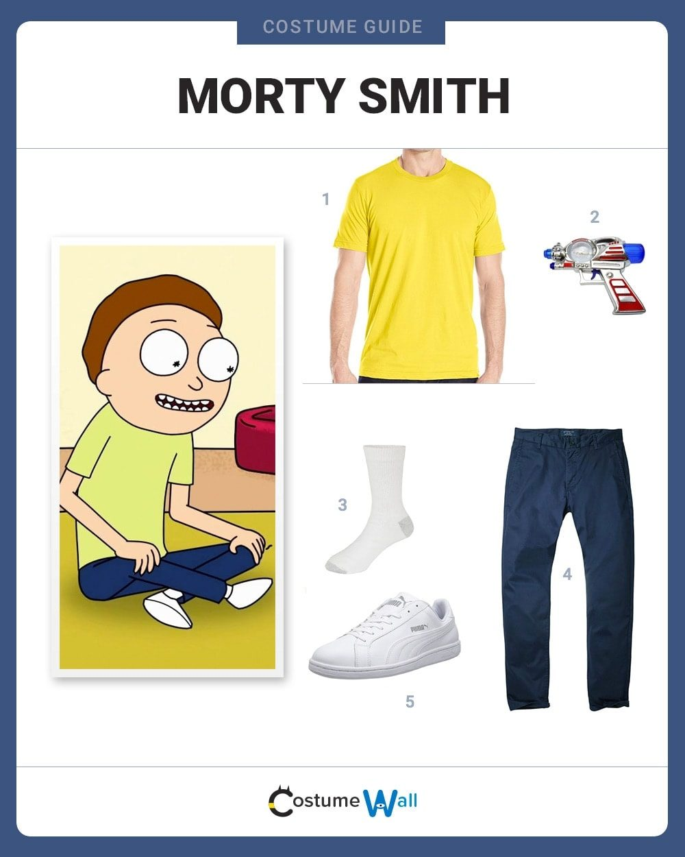 Morty Smith Costume Guide