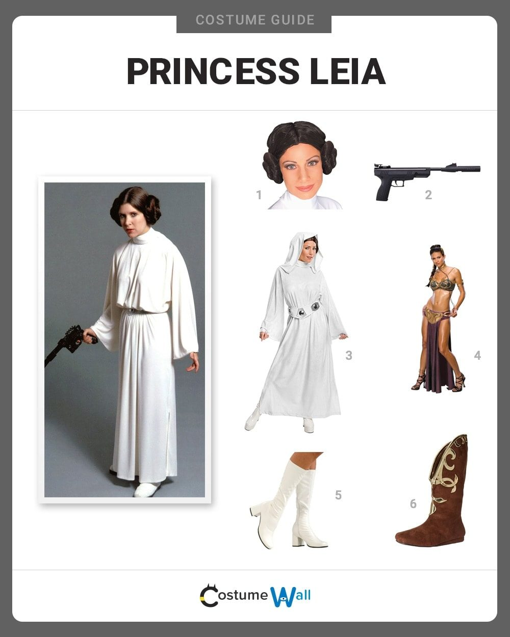 Princess Leia Costume Guide