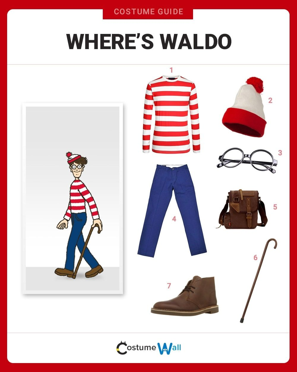 Waldo Costume Guide