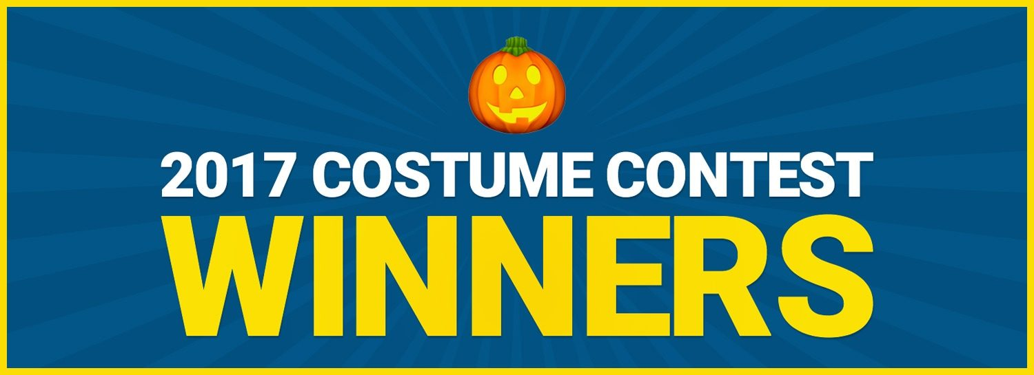 Halloween Costume Contest Winners