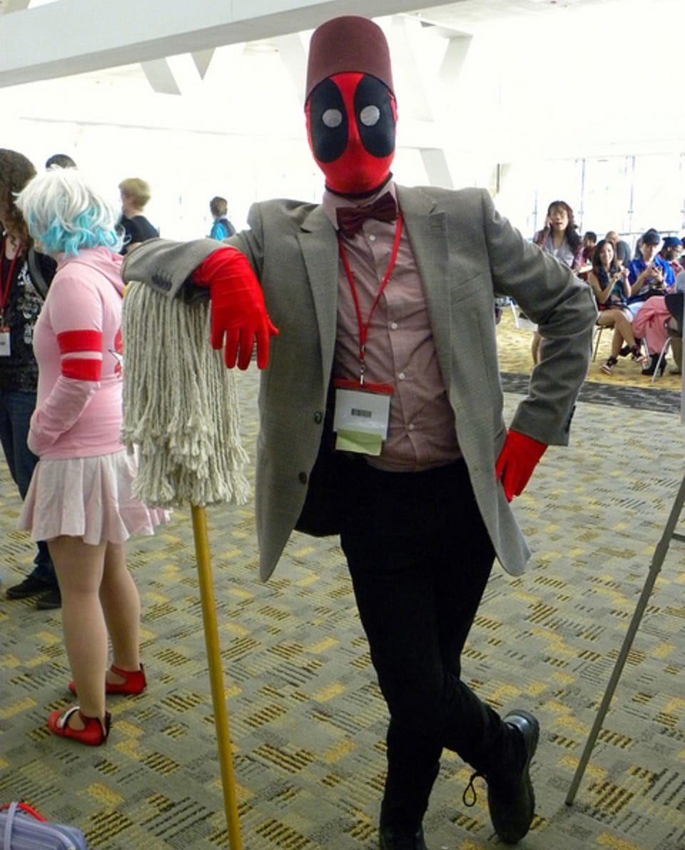 Deadpool x 11th Doctor (Dr. Who)