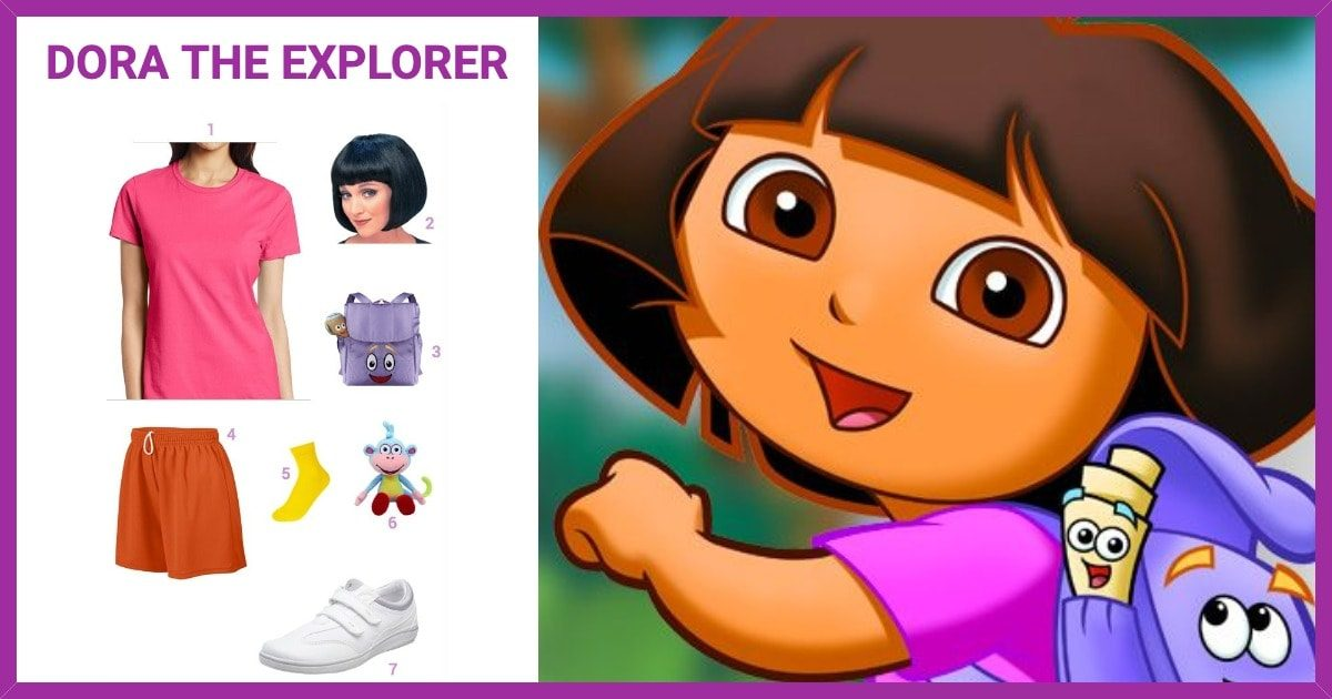 Dress Like Dora the Explorer Costume
