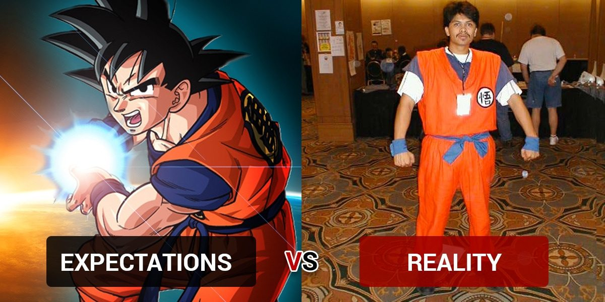Halloween Costumes: Expectation vs. Reality