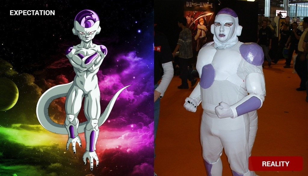 Frieza Costume Fail