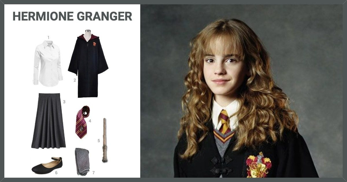 Costume Halloween Hermione.Dress Like Hermione Granger Costume Halloween And Cosplay Guides