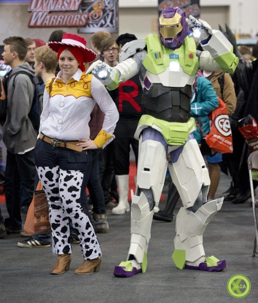 Ironman x Buzz Lightyear