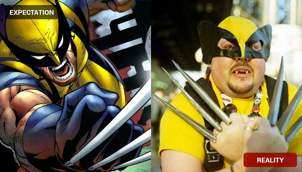 Wolverine Costume Fail