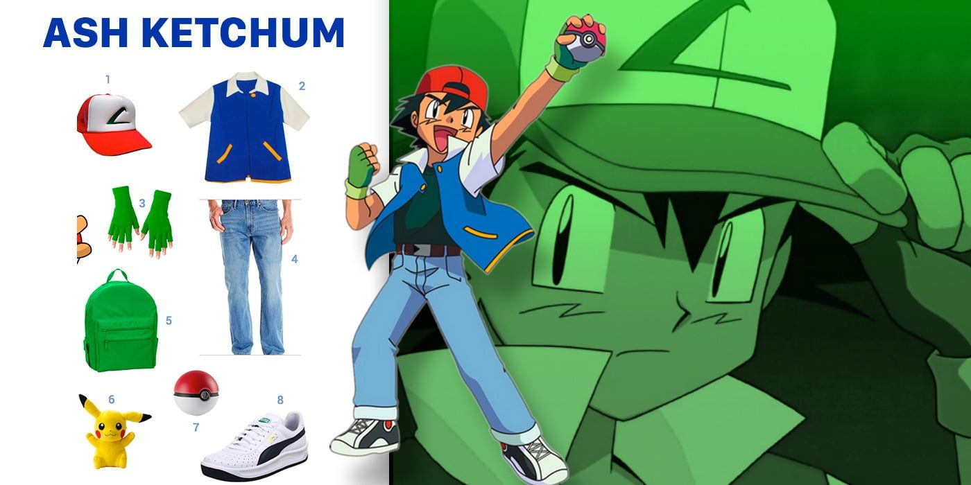 dress like ash ketchum costume halloween and cosplay guides