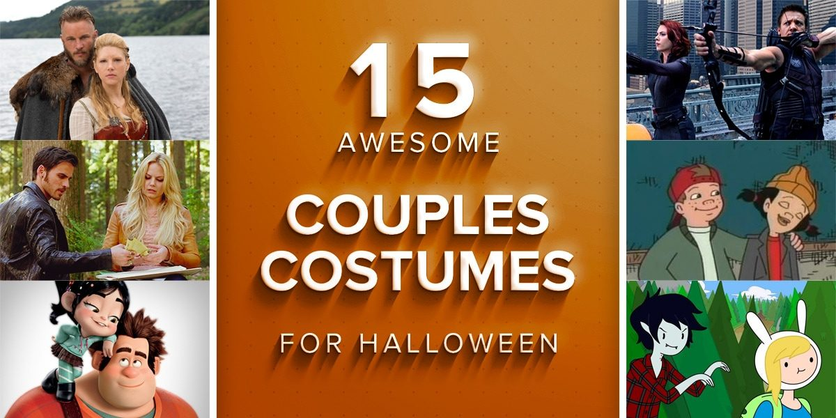 15 Awesome Couples Costumes for Halloween