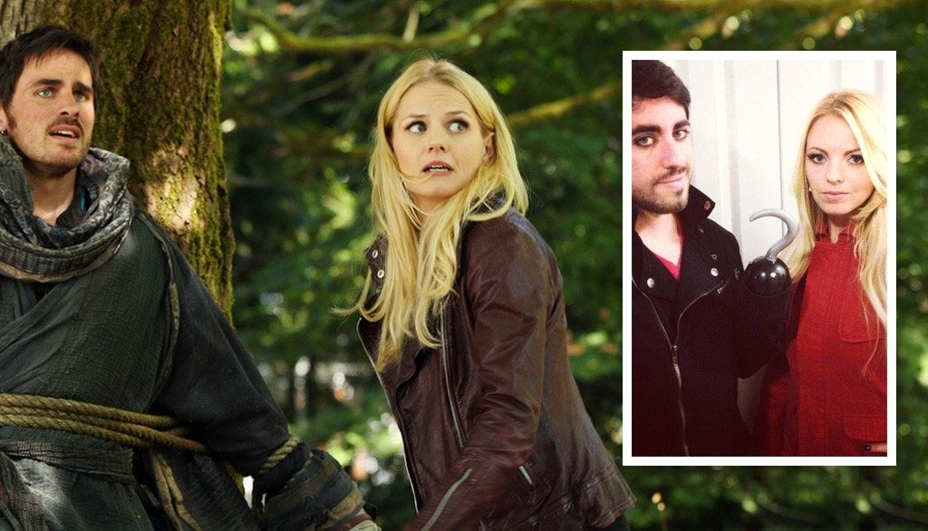 Emma Swan and Captain Killian 'Hook' Jones