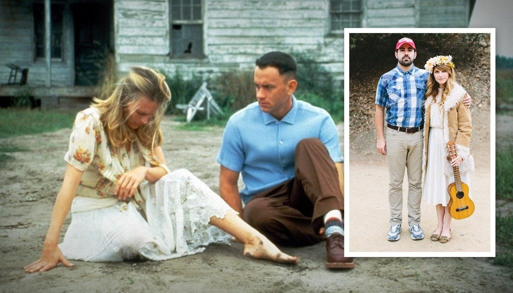 Forrest Gump and Jenny Curran