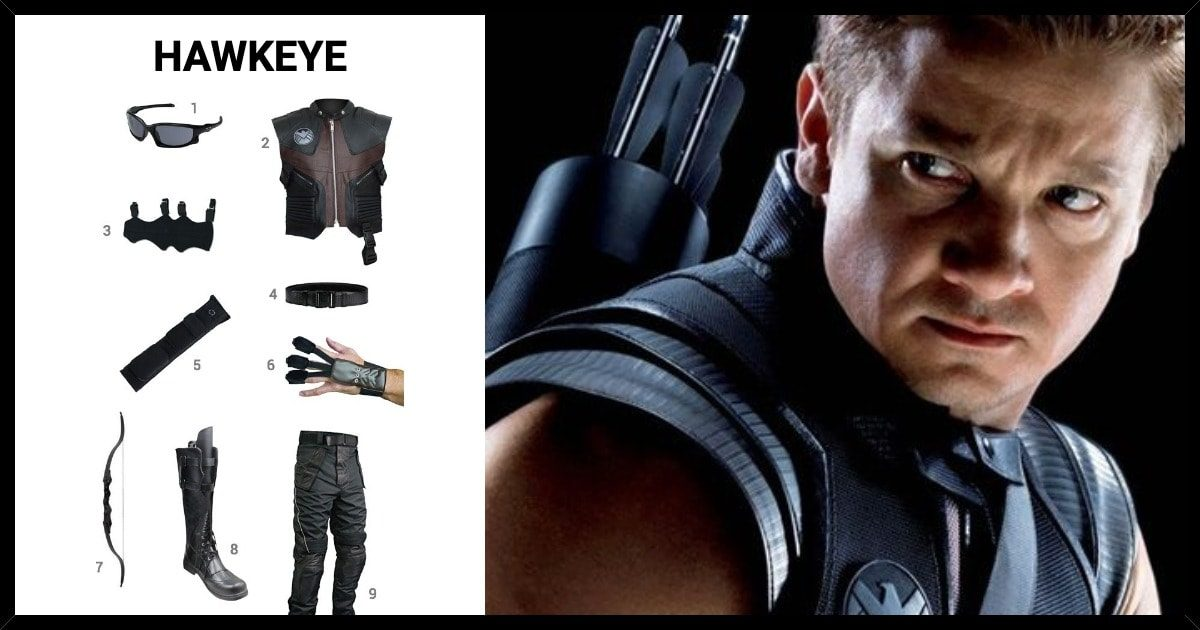 Dress Like Hawkeye Costume Halloween And Cosplay Guides