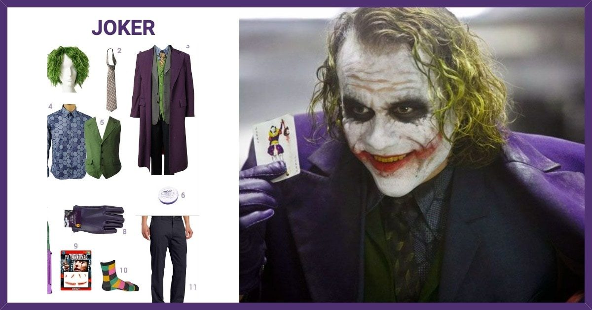 Dress Like The Joker Costume Halloween And Cosplay Guides