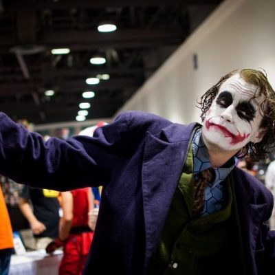 Joker Dark Knight Cosplay