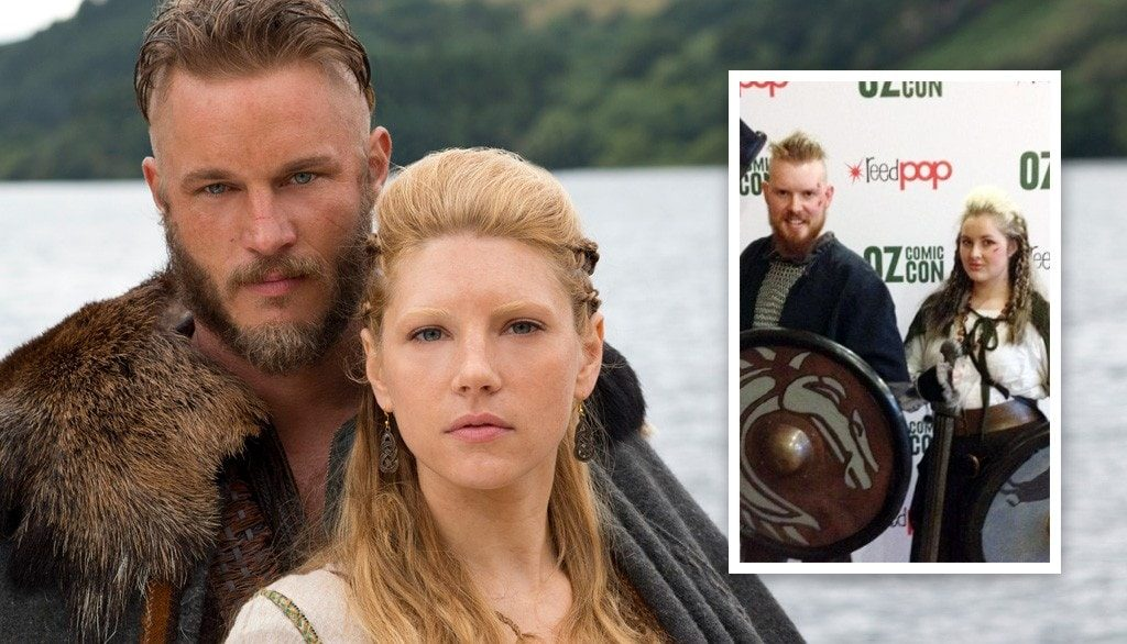 Ragnar Lothbrok and Lagertha