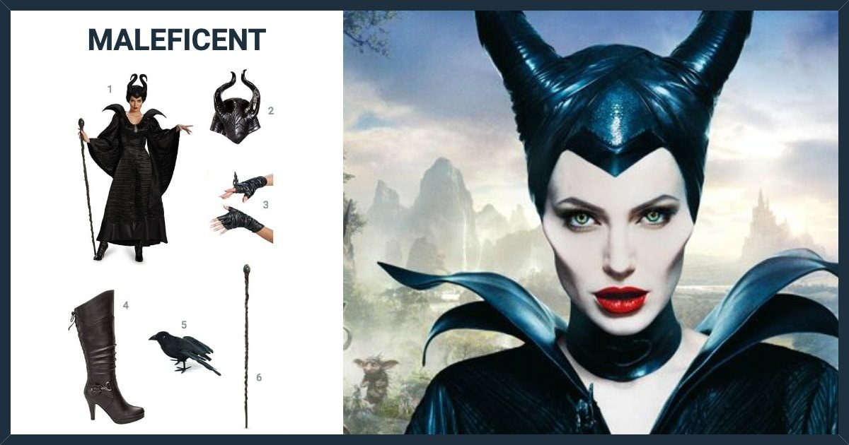 Dress Like Maleficent Costume Halloween And Cosplay Guides